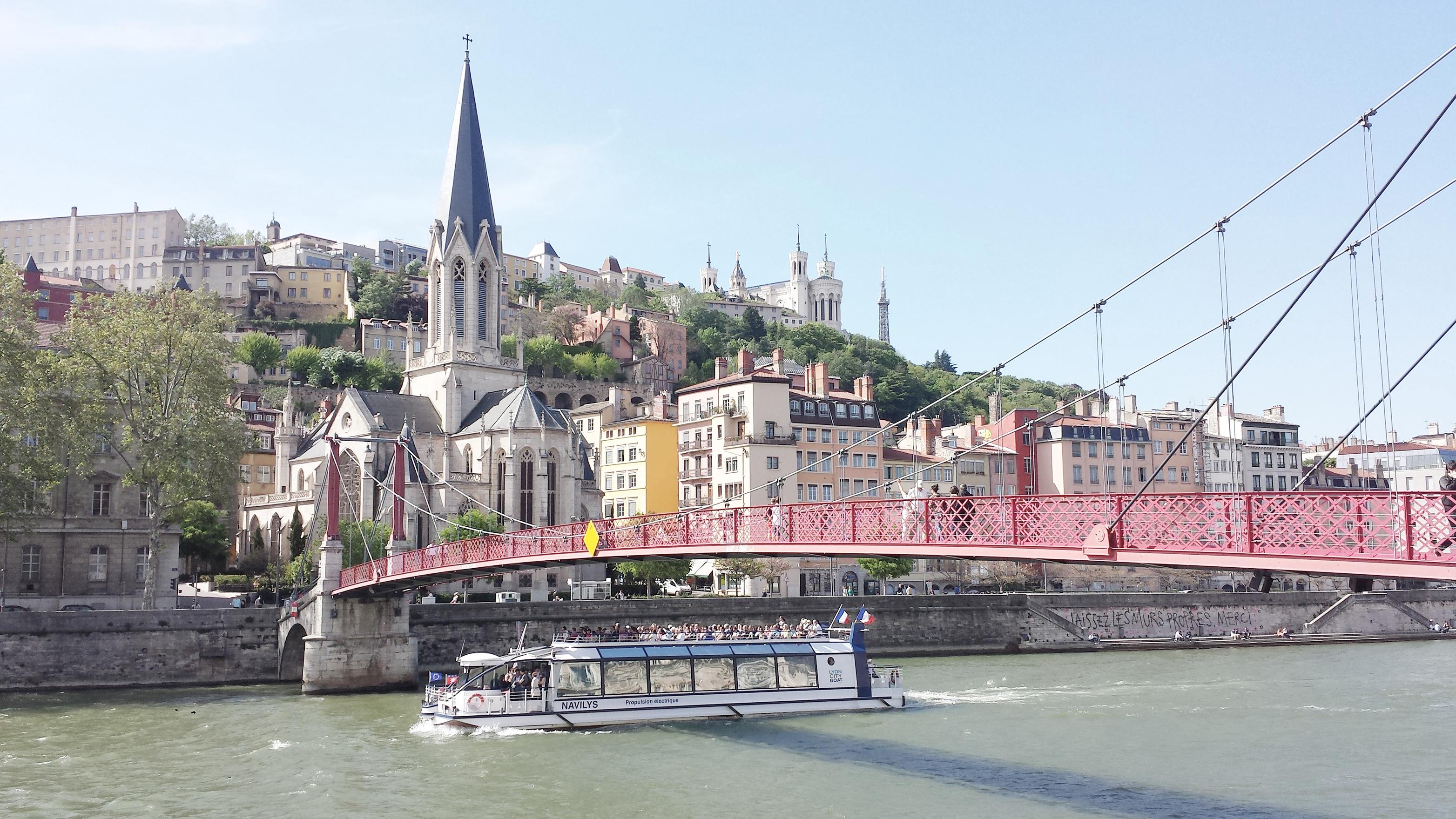 Découvertes Lifestyle Lyon Passerelle Saint Georges