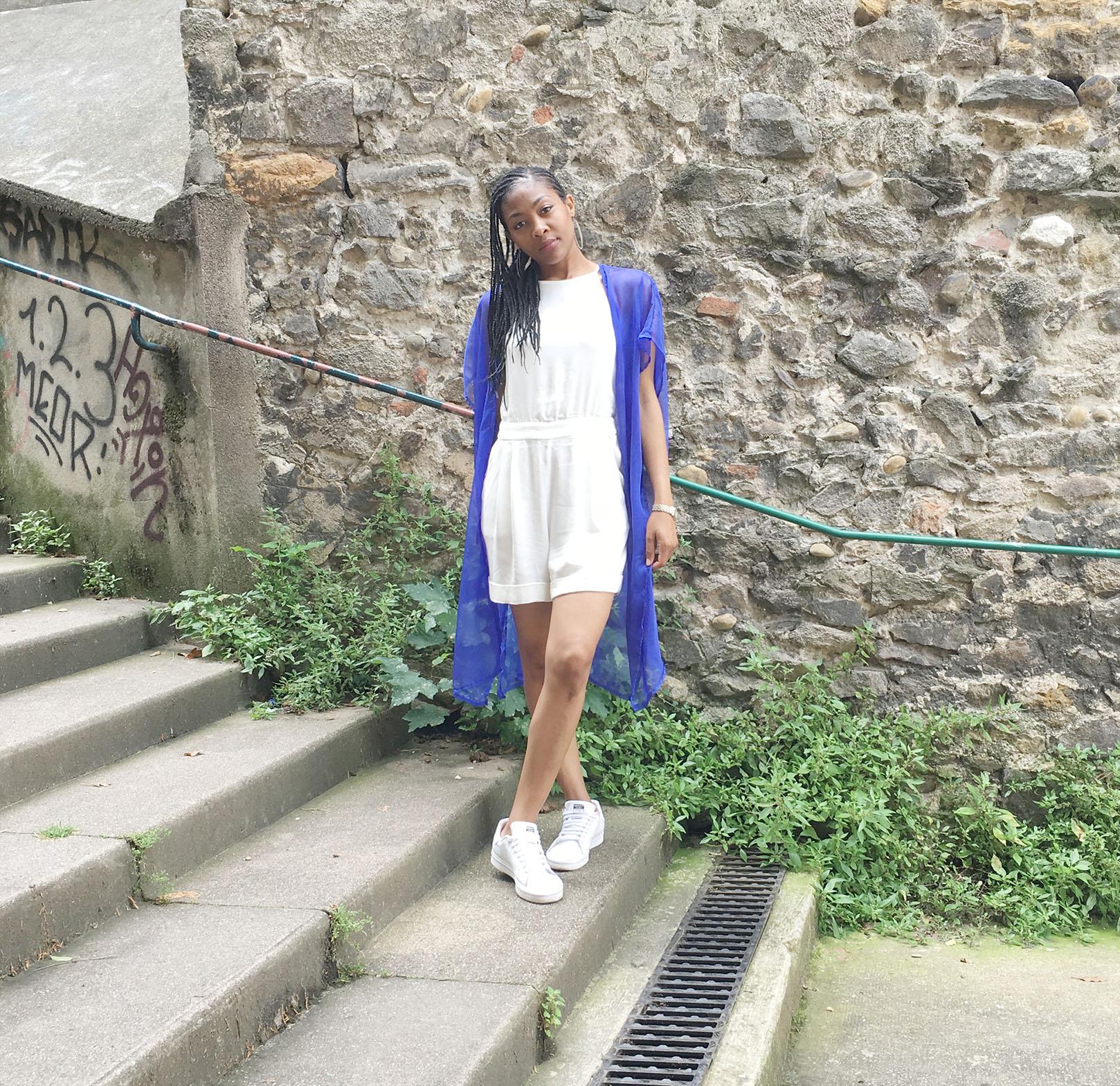 Kimono fluide d'été diy