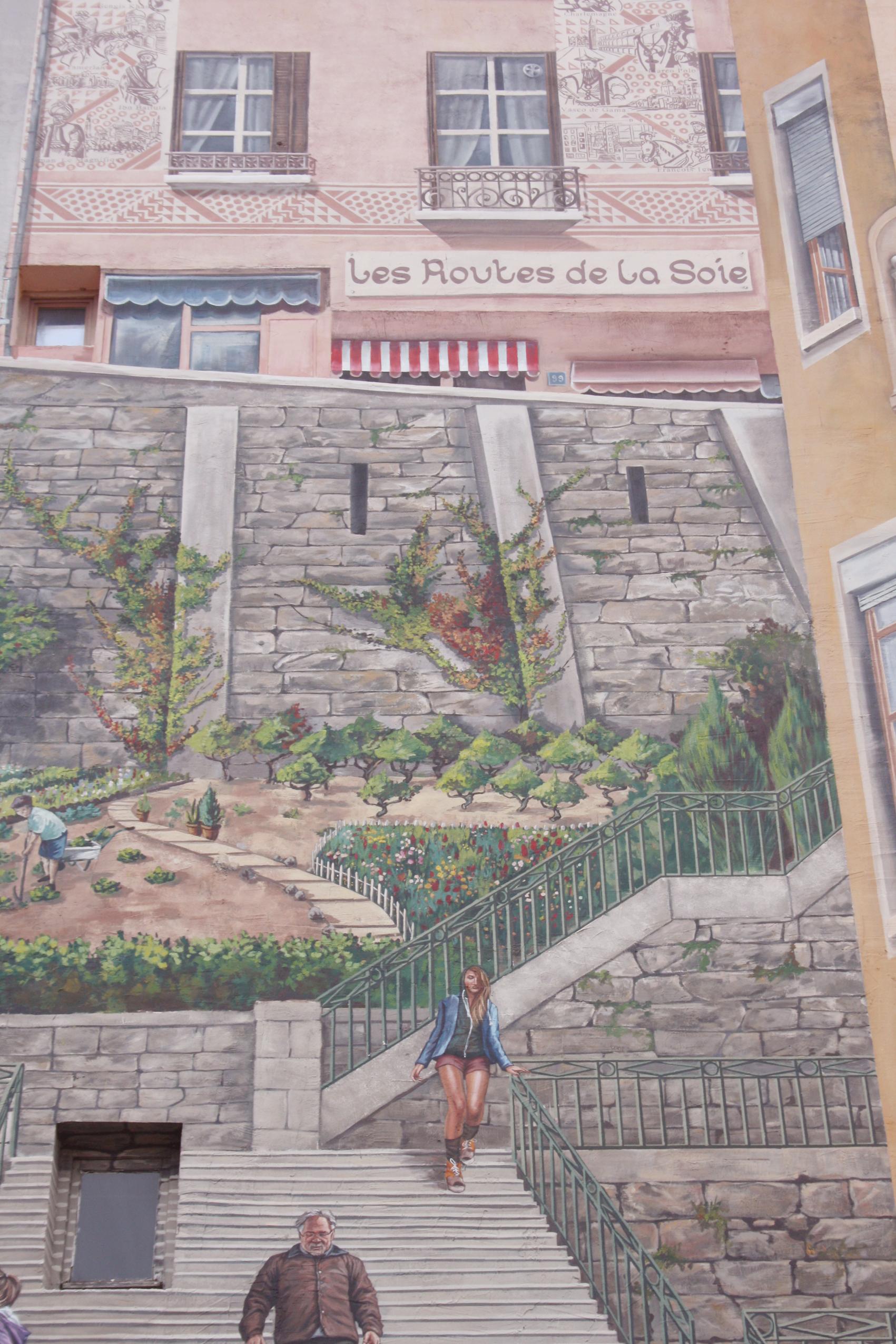 Découvertes Lifestyle Lyon le mur des Canuts