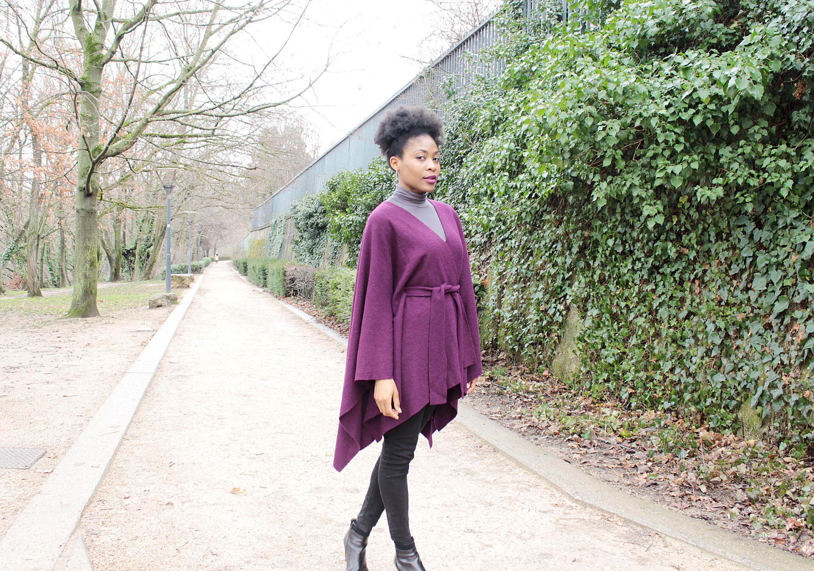 Cape sans couture profil