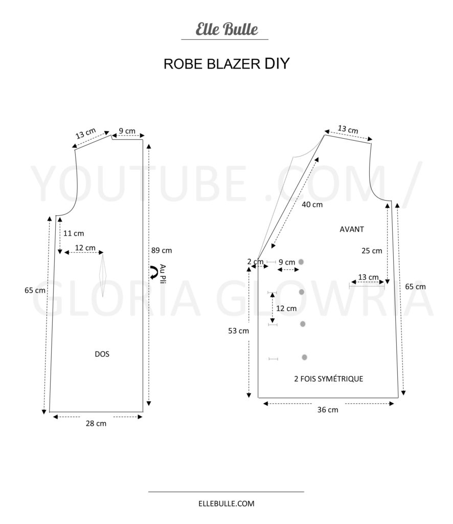 Robe Blazer DIY