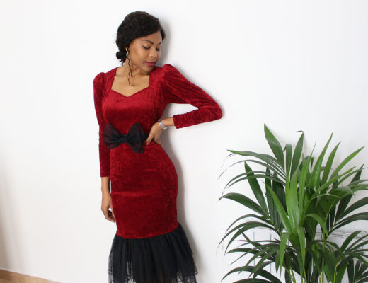 Robe de Soirée DIY